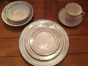 7-piece Service For 8 Lenox Charleston China Place Setting Excellent Condition