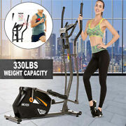 10 Level Resistance Magnetic Elliptical Machine Trainer Fitness With Lcd H 27