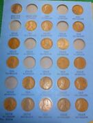 1909-1940 Lincoln Penny Collection Page 1 Whitman Number 1 With Vintage Folder