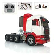 Lesu 88 Metal Chassis 1/14 Scania Rc Tractor Truck Sound Hercules Cabin Painted