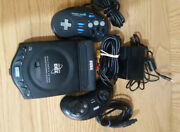 Sega Genesis Cdx Game System 22 Games Game Genie 2 Controllers Tested Working