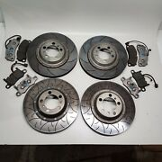 2014 Porsche 911 991 Gt3 Brembo Type 3 And 5 Front Rear Brake Disc Rotor Pads Set