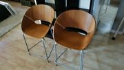 West Elm Mid Century Modern Counter Height Chairs
