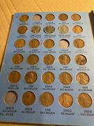 Lincoln Wheat Penny Collection 1941-1962 Set Of 57 Coins All P D And S