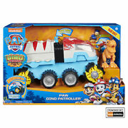 Paw Patrol Dino Rescue Dino Patroller Motorized Vehicle With Chase And T. Rex
