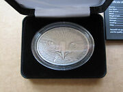 2013 Fiji Fascinating Wildlife Bald Eagle 1 Oz Silver Antique Lord Of Rings Coin