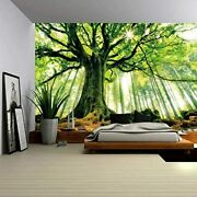 Enjohos Nature Forest Thick Tree Wall Tapestry Large 3d Print Wall Art Hanging F