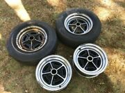 Buick 14 X 6 Vintage Chrome Spoked Wheels From A 1966 Skylark.andnbsp