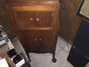 Antique Rca Victor Talking Machine Victrola Wind Up Record Player, Phonograph