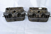 Nos Vw Cylinder Heads 2 Pcs 1200 111101351a 30 Ps/36 Hp Fits Type 1 And Type 2