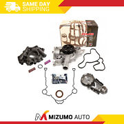 Timing Chain Kit Water Oil Pump High Pressure Fit 05-08 Chrysler Dodge Jeep 5.7