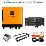 Ac Charging Hybrid Solar System With Lithium Ion Batteries Pylontech Us2000