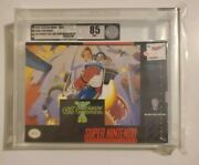 1993 Snes Jim Power The Lost Dimension In 3d Vga 85 Sealed New