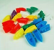 Lot Of 20 Alka Seltzer Speed Boats Vending Machine Toy Prizes New.