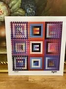 Yaacov Agam - Agamograph Limited Edition Signed And Numbered.