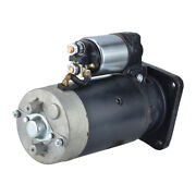 New 9 Tooth 12v Starter Fits Long Tractor Tractor 610 510 1979-1990 11-130-510