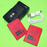 2x 2980mah Battery Universal Charger Usb Cable For Cricket Lg Optimus L70 D321