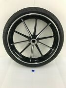 2012-2017 Oem Harley-davidson Fxsb Softail Breakout Front Wheel And Tire 21x3.5