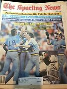 The Sporting News 10/11/1982 Brewers Win Pennent, Good Condition