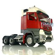 Lesu Rc Metal 66 1/14 Chassis Motor Painted Hercules Actros Cabin Tractor Truck