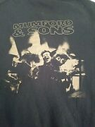 Mumford And Sons Tour Hoodie Size Medium Cotton Bend Independent Jacket