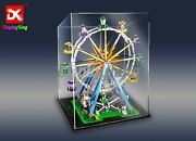 Dk- Display Case For Lego Ferris Wheel 10247 Construction Aus Top Rated Seller