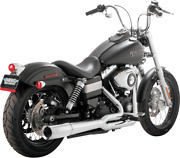 Vance And Hines 17569 Pro Pipe 2-into-1 Full Exhaust System - Chrome