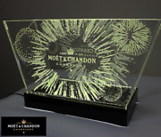Moet And Chandon Hanabi Large Cooler Ice Bucket Not For Sale Limited W/led Light