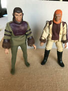 Vintage Planet Of The Apes Collectibles 2 Action Figures Circa 1970's