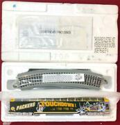 2000and039s Hawthorne Village Green Bay Packers Ho Scale Dome Car Train W/ Tracks New