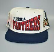 Florida Panthers Apex One Vintage 90and039s Nhl Menand039s Fitted Cap Hat - Size 7 1/4
