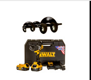 The Ultimate Gardener Starter Auger Drill Bits And Dewalt Cordless Drill