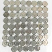 Lot Of 69 Kennedy Clad Half Dollars - Mixed Dates