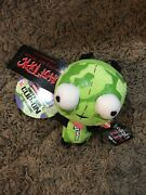 Invader Zim Dirty Gir Germ Clip On Plush Toy Doll W/ Tags Very Rare
