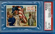 1954 Topps Scoop 121 West Point Trains Cadets Psa 8 Pop 3
