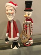Christmas Allen Cunningham 2 6.5andrdquo Little Candy Containers Bethany Lowe Retired