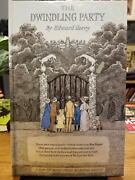 Edward Gorey Signed / The Dwindling Party First Edition 1982