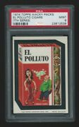 1974 Topps Wacky Packages El Polluto Cigars Psa 9 7th Series