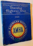 Official Motor-hotel Directory Travelog And Highway Atlas United First Edition