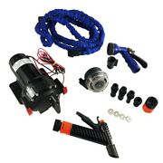 Johnson Pump 6260616 - 5.2wd Kit W/blue Collapsible Hose No Switch Or Fitting