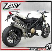 Zard Steel Racing Full Exhaust System For Ducati Streetfighter /s 2009 09