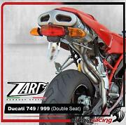 Zard Titanium Racing 212 Full Exhaust System Double Seat Ducati 749s 2003 03