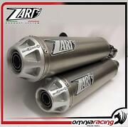 Zard Titanium Approved Side Mount Exhausts Ducati Monster S4r S4rs Testa Stretta