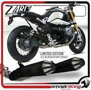 Zard Exhausts Limited Edition Conic Black Steel Street Legal Bmw R Ninet 2014