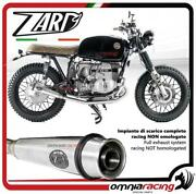 Zard Full Exhaust System Steel Silencer Racing 22 For Bmw R45/r65