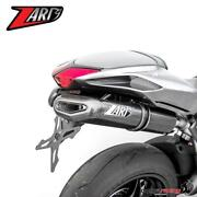 Complete Exhaust System Zard Penta Evo With Carbon Racing For Mv Agusta F4 2013