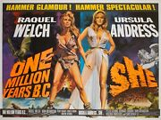 One Million Years B.c/she Orson And Welles Film/movie Posters 1968 Chantrell