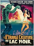 Creature From The Black Lagoon French Grande Orson And Welles Film/movie Posters