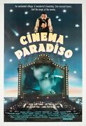 Cinema Paradiso Original Us 1sh Orson And Welles Film/movie Posters Linen Backed