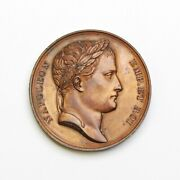 France 1807 Napoleon And039wurttemberg Allianceand039 Bronze Medal - Free Shipping